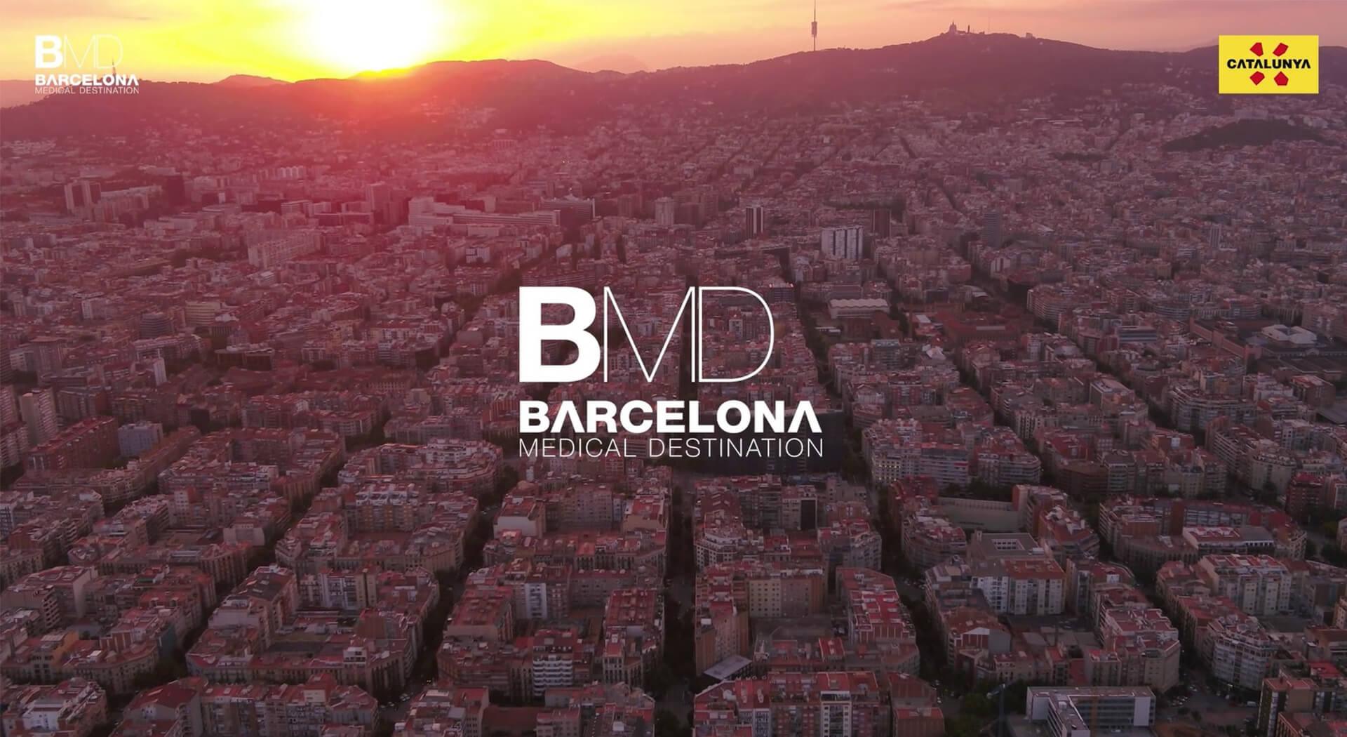Vídeo promocional Barcelona Medical Destination
