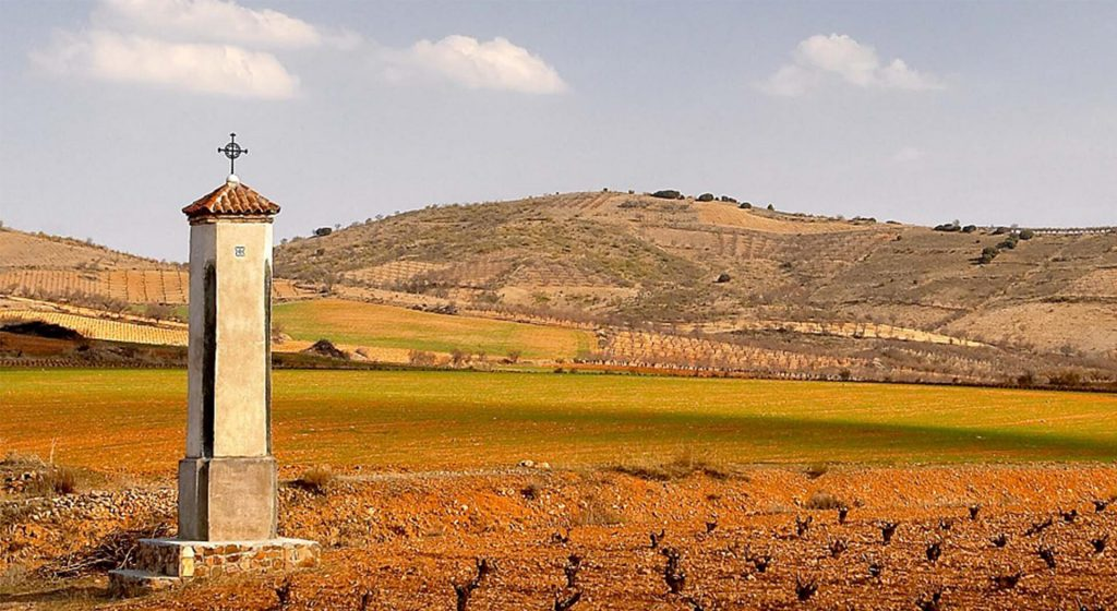 Campo en la provincia de Zaragoza, Aragón