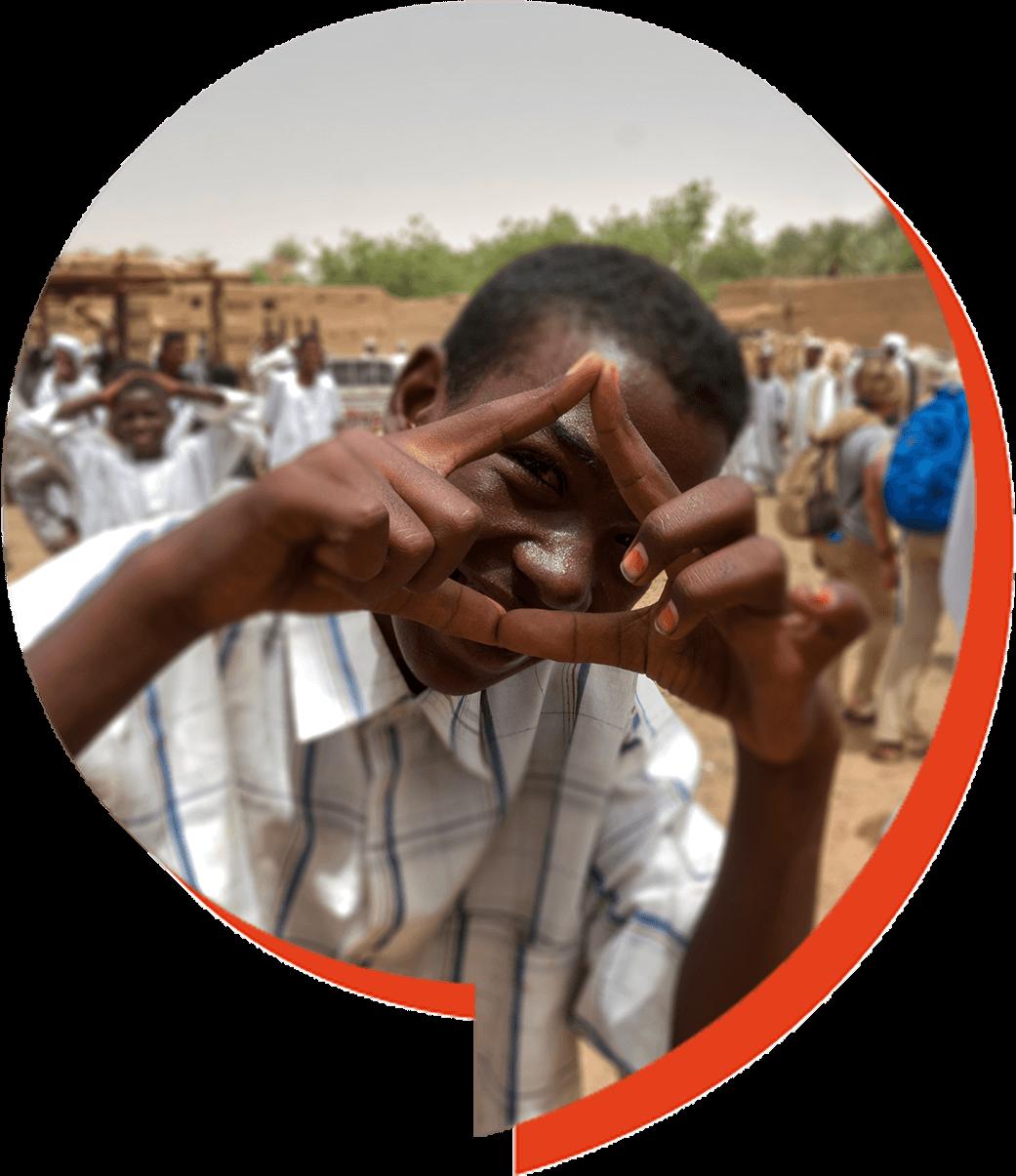 Mercado en Tanqasy en Sudan